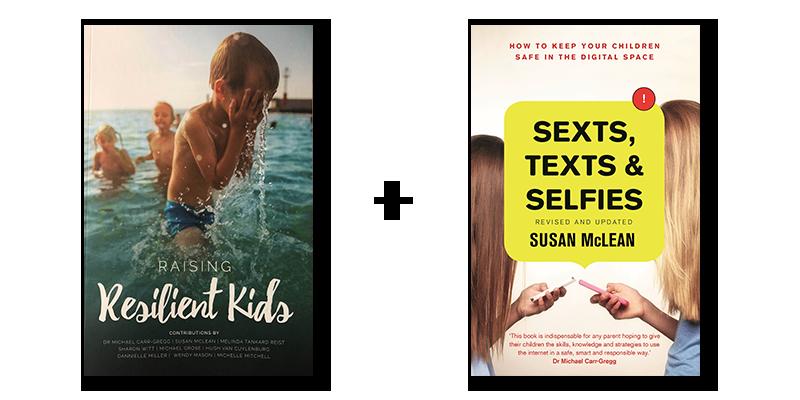 Sexts Texts and Selfies plus Raising Resiliant Kids